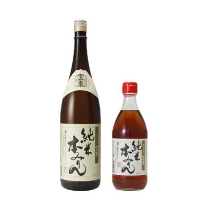 寶來「純米甜料酒」